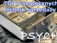 TOP 5 skutecznych technik sprzedaży 6 PSYCHE