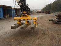 Układanie i załadunek betonowych podkładów