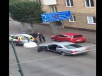 Muslimka zatrzymana przez policje