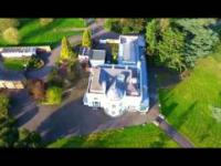 mój lot dronem nad Norwood Grove White House