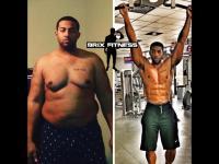 Niesamowita transformacja z grubasa w mięśniaka