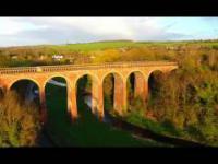 Mój przelot dronem nad Eynsford Viaduct