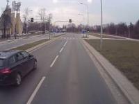 Kolizja Wrocław: Arocs kontra BMW