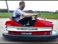 Samochodzik z wesołego miasteczka z silnikiem 100KM