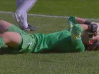 Bolesny samobój w kobiecym futbolu