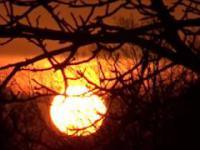 Piękno wschodu słońca.