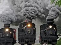 Niesamowite stare lokomotywy