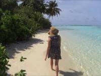 Malediwy 2016 - rajska plaża ♡
