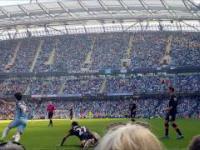Etihad Stadium / MANCHESTER CITY 3 - 1 HULL. SILVA YAYA SANE GROSICKI