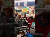 Lidl walka o ubrania i masło cz.1 06.04.2017(NOWE)- bitwa na całego