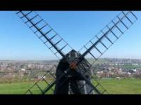 mój footage z przelotu dronem nad Beacon Mill, Rottingdean