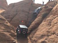 Josh McBride Jeep wall climb