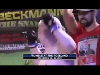 Niespotykana walka MMA
