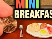 Miniaturowe śniadanie