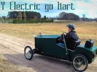 Elektryczny samochod w stylu lat 20 - domowej roboty