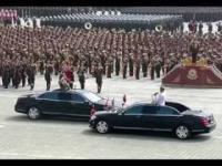 Korea Północna- parada wojskowa z okazji 105 urodzin Kim Ir Sena