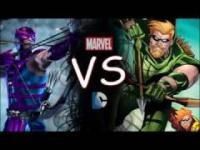 Green Arrow Vs. Hawkeye / Who Wins?