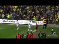 Dania: kibice rzucali w piłkarzy martwymi szczurami
