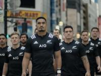 Japońska reklama AIG z udziałem All Blacks