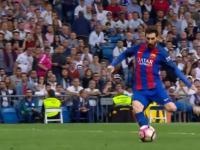 500. gol Messiego którym w ostatniej minucie pokonał Real Madryt
