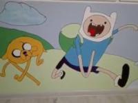 Pora na Przygodę, Wall Mural Painting, Malowanie na ścianie, Adventure Time, Zrób to Sam