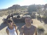Route 66 w USA oraz zwiedzanie Joshua Tree Park - pustynia, kopalnia złota