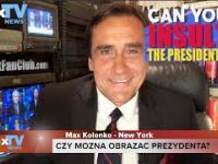 Czy można obrażać Prezydenta? Max Kolonko Mówi Jak Jest