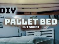 DIY Jak zrobić łóżko jak z palet w pigułce
