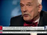 Janusz Korwin Mikke miażdży merytoryką i logiką w programie 24 minuty - 1.5.2017