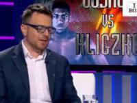 Wstawiony Mariusz Wach komentuje na żywo walkę Joshua Kliczko :)