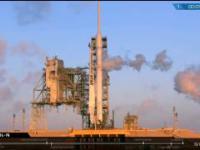 Lądowanie rakiety Falcon 9, jakiego jeszcze nigdy nie widzieliśmy