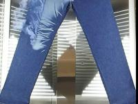 Laserowe postarzanie jeansów