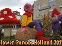 Flower Parade Bloemencorso Noordwijk Bollenstreek Holland 2017 1
