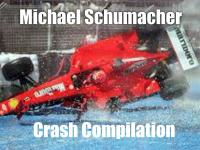 Kompilacja wypadków Michaela Schumachera
