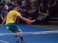 Nieoczekiwane zakończenie w tenisie