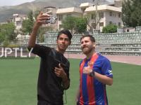 Irański student, który wygląda zupełnie jak Lionel Messi