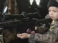 The kid sniper.