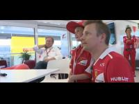 Ferrari pociesza zapłakanego fana