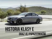 Historia Klasy E Mercedes-Benz oraz jej poprzedników