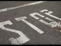 Tego znaku STOP nie da się zignorować.