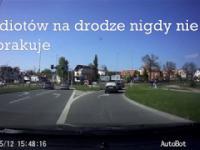 Idiotów na drodze nigdy nie brakuje