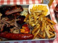 Amerykański grill(BBQ)  - test jedzenia w Armadillo Willy's BBQ®