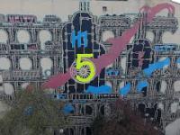 Łódź ul.Legionów Mural (5)