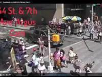 Dramatyczne wideo z ataku na Times Square - 18.05.2017