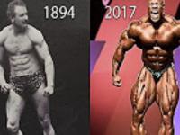 Ewolucja kulturystyki 1984-2017