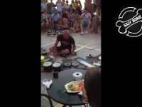Perkusista czyli techno na wiaderkach // Professional drummer