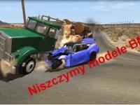 Symulacja zderzeń różnych modeli BMW
