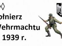 Żołnierz Wehrmachtu w 1939 r.