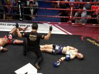 Niesamowite - pierwszy w historii podwójny nokaut w Muay Thai