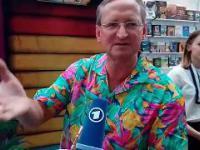 Wojciech Cejrowski twardo rozlicza Niemców w wywiadzie dla niemieckiej telewizji
